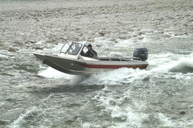 Wooldridge Alaskan 17' - Forward Helm   Boats   Boat, Fish