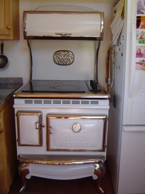 Vintage Looking Electric Stoves ~ Best images about kitchen on pinterest stove cast