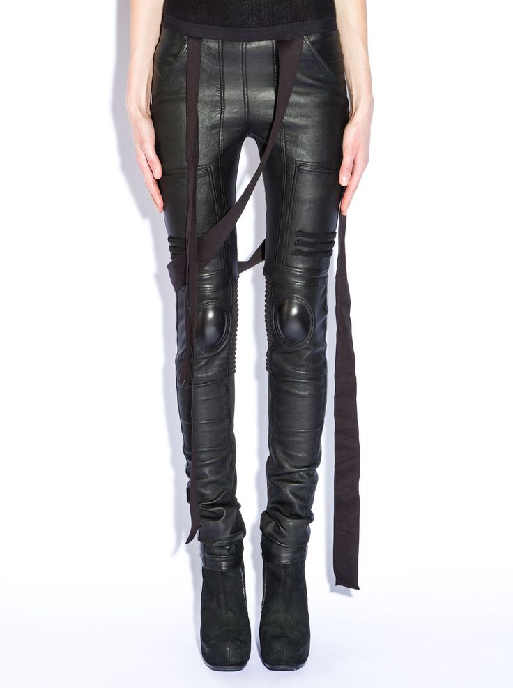Visions of the Future: Love these badass biker leggings from Rick Owens!