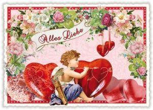 tausendschön postkarten - Alles Liebe