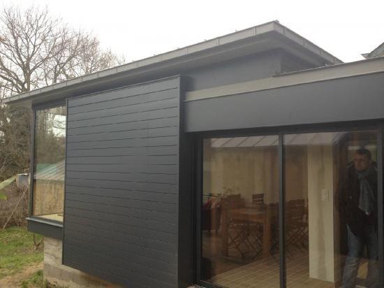 Les 23 meilleures images propos de extension garage sur for Agrandissement maison en bois