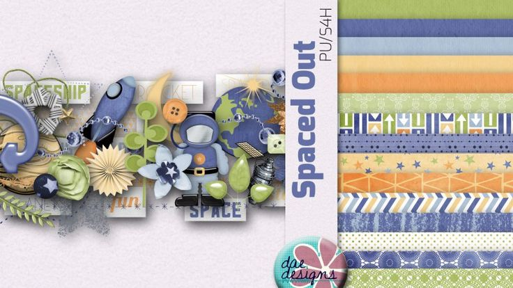 Spaced Out by Dae Designs