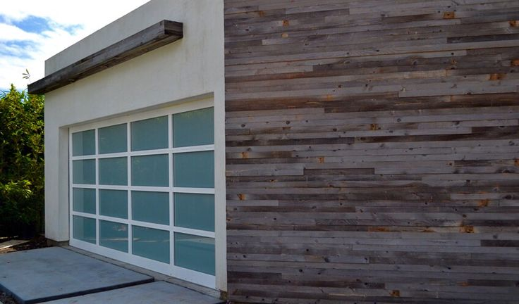 Varied color & texture reclaimed barn wood exterior siding ...