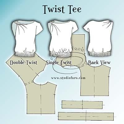 Pattern Insights - Twist Tee