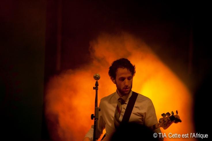 Dave Bergman, TATV bassist.