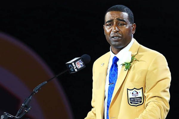 """Cris Carter The long and torturous wait for Cris Carter is finally over. Year afer year, one of the best receivers to play the game waited by the phone for the Hall of Fame to call. They finally did in 2013 and for Carter, it was a release of emotion to stand before the crowd in Canton and tell the tale of his life.Memorable quote: """"To be able to join these men on this stage in football heaven is the greatest day of my life."""" """"Buckeye born and bred. Now HOF'er even after I'm dead"""""""