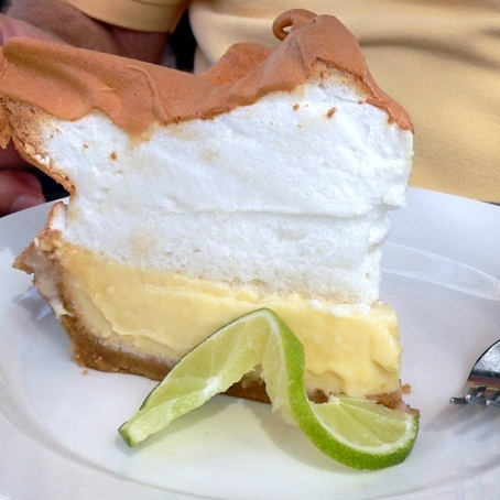 Blue Heaven in Key West, home of the BEST key lime pie on the island!!