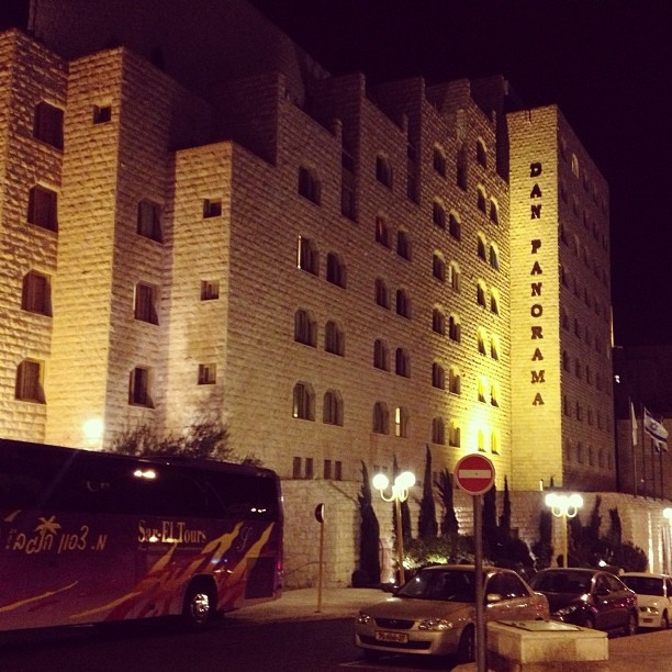 Our #hotel in #Jerusalem