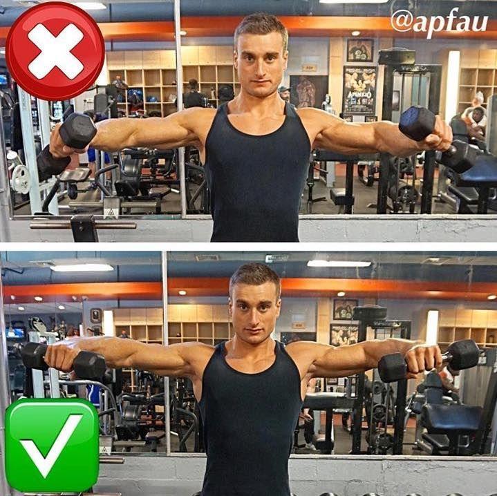 P I N T E R E S T A N N I E Bodybuilding Workouts Shoulder Workout Fitness Body