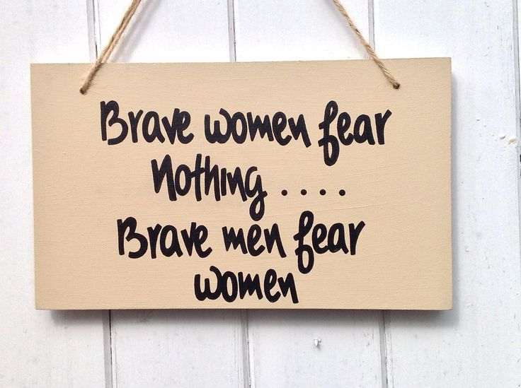 wooden sign, hand painted sign, Brave women, funny sign, gift for women, office sign, sign for the house, wall plaque, funny gift for her by JDCraftsDorset on Etsy https://www.etsy.com/listing/508841894/wooden-sign-hand-painted-sign-brave