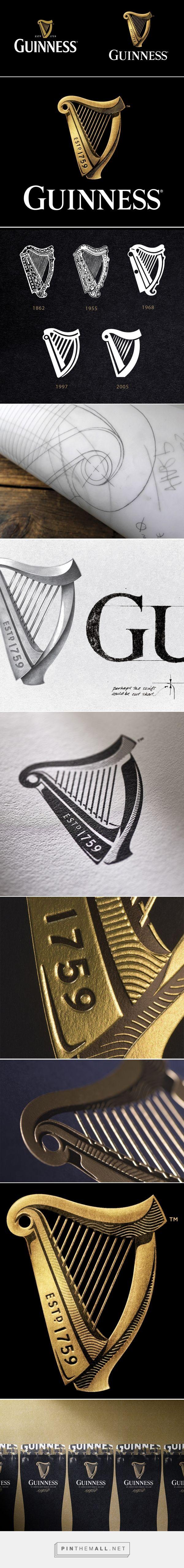 New Logo for Guinness by Design Bridge #branding #beer