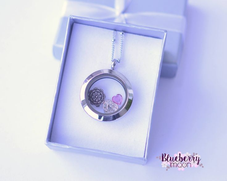 A cute little locket perfect for mom :)