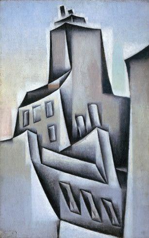 Juan Gris / Houses in Paris (Maisons à Paris) / 1911 / oil on canvas