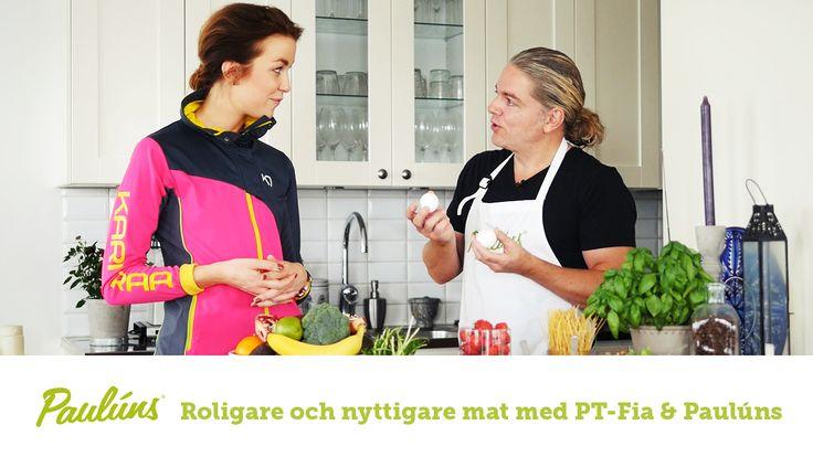 Sofia Pt-Fia Sjöström och Fredrik Paulún pratar om mellanmål, där de presenterar varsin personlig favorit. De pratar kring trenden chiapudding, fler bra mellanmål och mat i samband med träning.