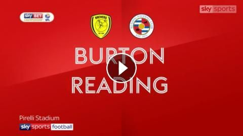 Watch Football Highlights: Burton Albion vs Reading 1-3 Highlights Video and All Goals in HD, Sky Bet Championship - 30 January 2018 - Football Video ...