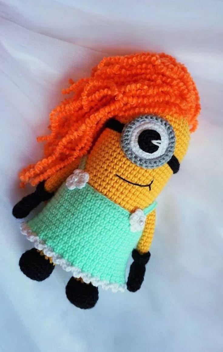 Amigurumi Minion Girl : 27420 best images about  Amigurumi!!  Community Board on ...