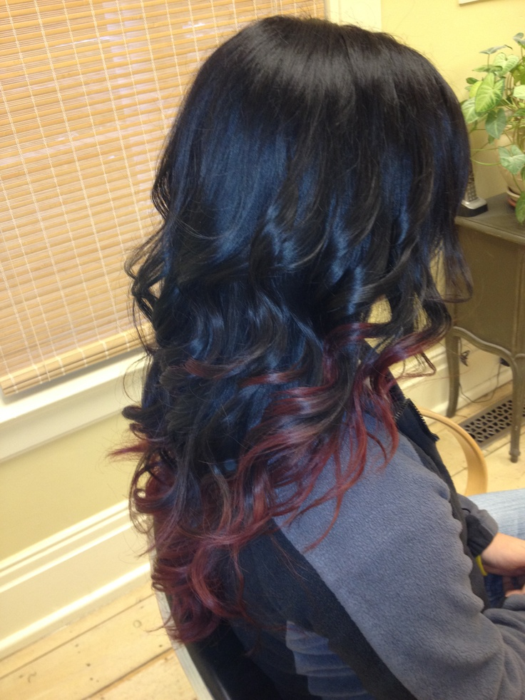 Black and red ombre - my next hair style!!!Hair Ideas, Black Hair Red Ombre, Black To Red Ombre, Beautiful, Black Red Hair Ombre, Red Ombré, Hair Style, Reddish Brown, Black And Red Ombre