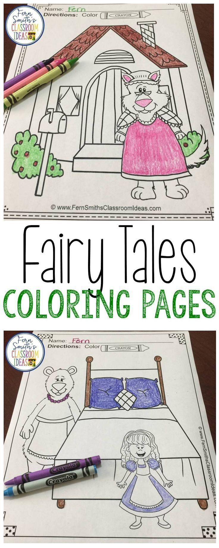 Fairy Tales Coloring Pages 42 Pages Of Fairy Tale Fun Coloring Pages