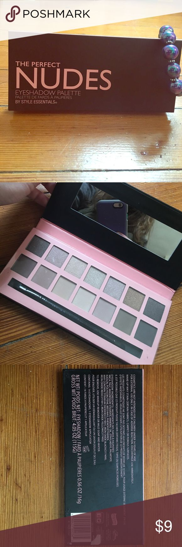 Nudes eyeshadow palette The perfect nudes eyeshadow palette is good for any skin tone! It has a wide range of colors to fit any occasion. Brand new! Makeup Eyeshadow