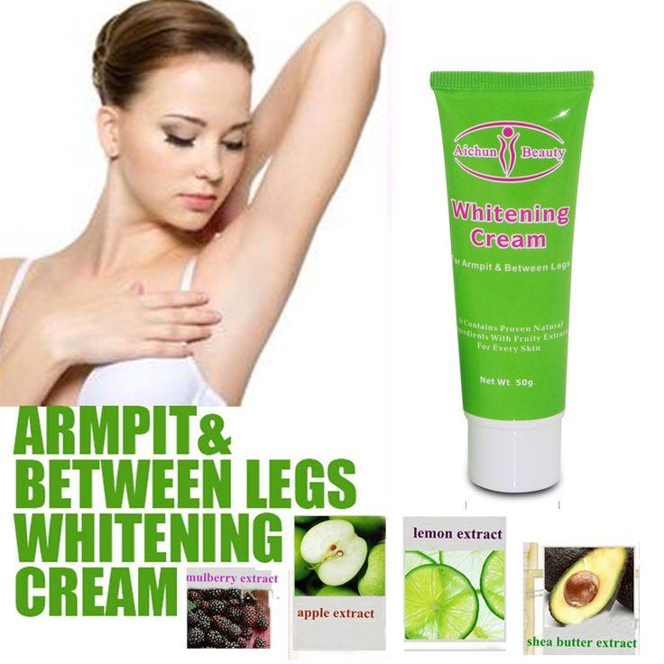 Free shipping armpit whitening cream Natural formula underarm privite parts skin whitening massage cream legs knee whitening