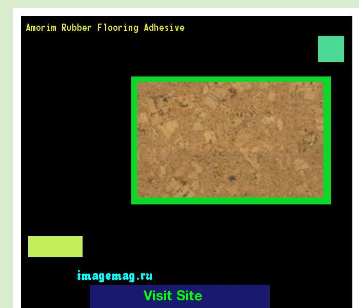 Amorim Rubber Flooring Adhesive 160014 - The Best Image Search