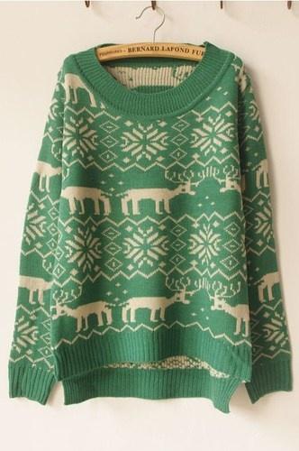 Womens Ladies Christmas Jumper Knitwear Fluffy Chunky Reindeer Snowflake UK 8 12 | eBay