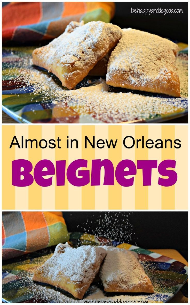 So close to Cafe du Monde's beignets you'll think you're in NOLA!