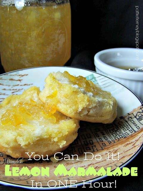 Delicious homemade marmalade in an hour! See the recipe and tutorial. Nothing could be easier, or more delicious! Ricardo's Lemon Marmalade