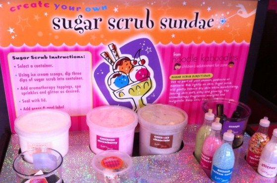 Sugar Scrub Sundae Bar Spa Birthday Party Pinterest
