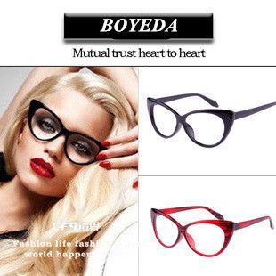 Fashion Cat Eye Glasses Frames Brand Designer Eyeglasses Women Optical Glasses of Cat's Eye Female Spectacle Frame oculos