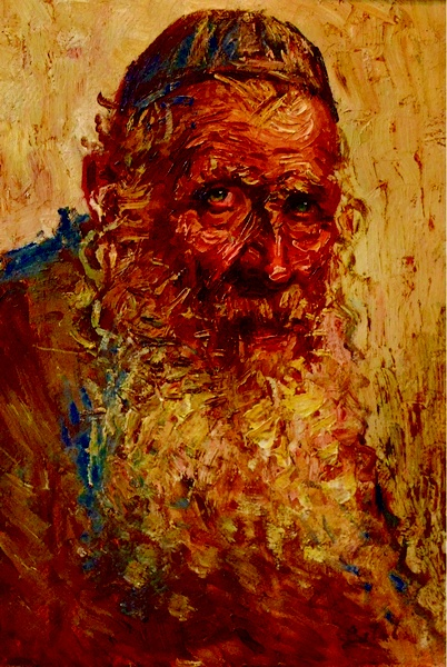 Theodor Cateliu - Portret de Evreu