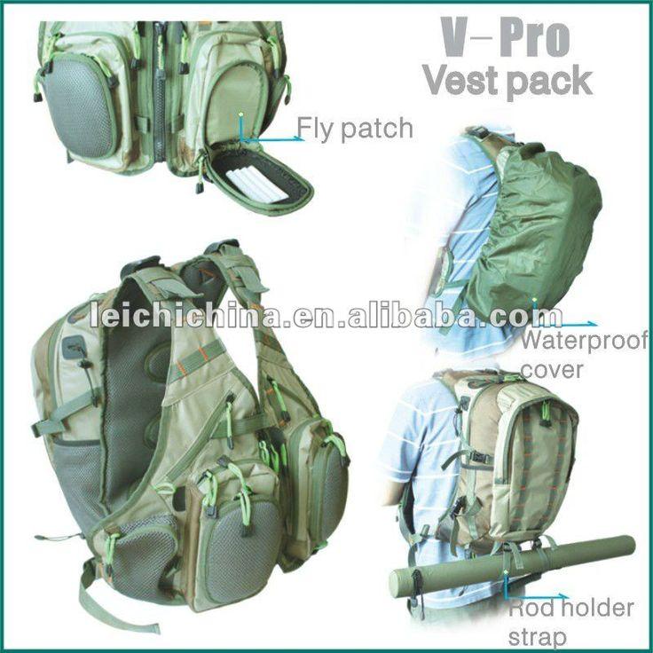 back pack fly fishing vest