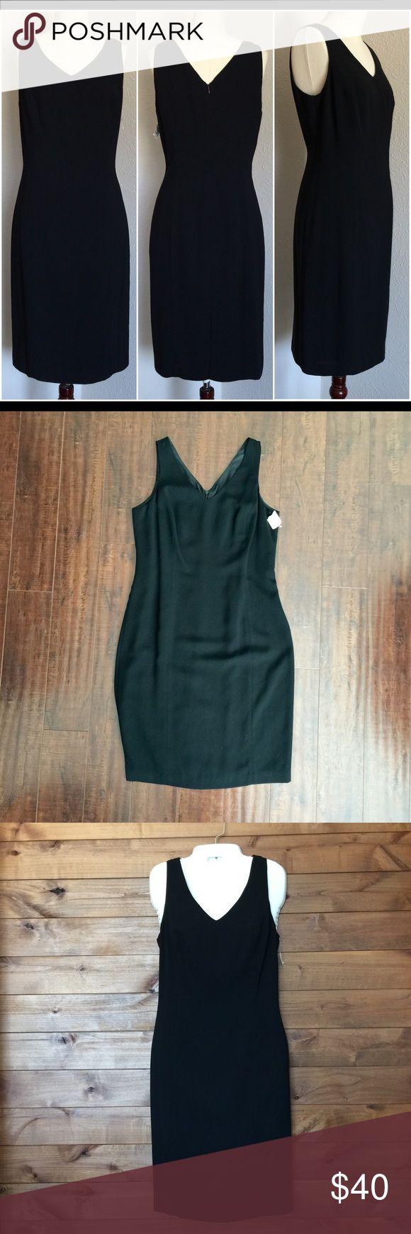 Black dress neiman marcus - Nwt Neiman Marcus Isabel Ardee Black Sheath Dress Neiman Marcus Isabel Ardee Black Sheath Dress