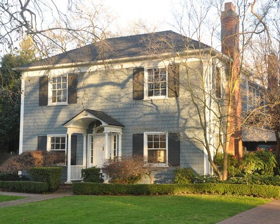 exterior paint colors for colonial style house. architecture walk: exterior styles and palettes - traditional other metros kerrie l. paint colors for colonial style house l