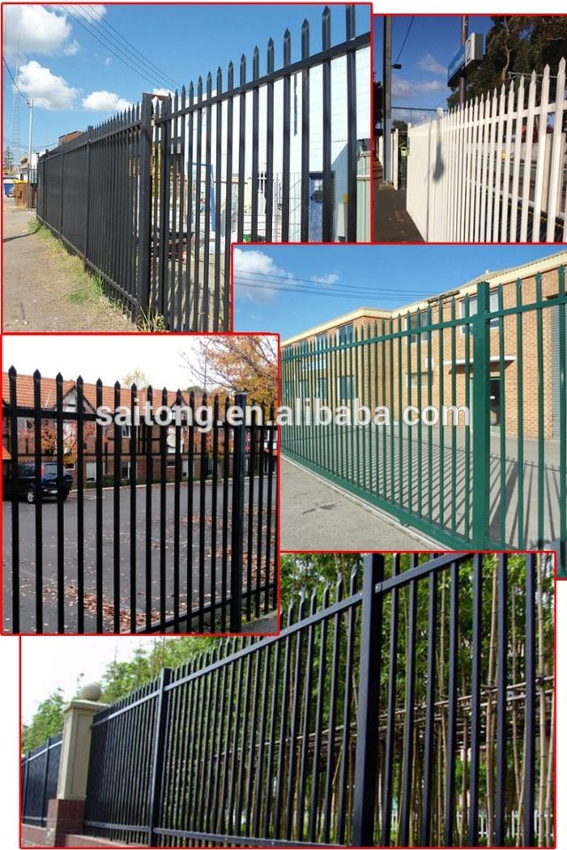 1.8m(H)*2.4m(W) Australia Style Garrison Security Fencing