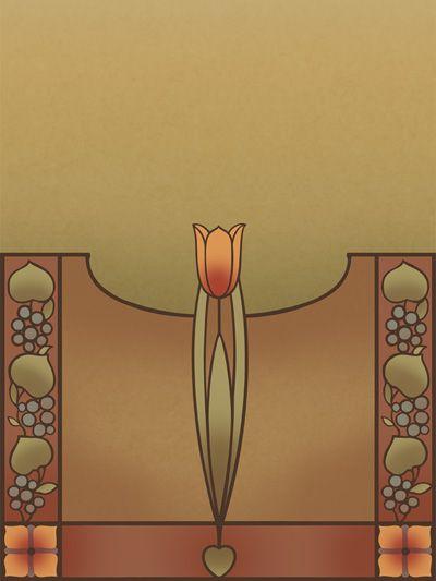 """Tulip"" poster. #bradburywallpaper"