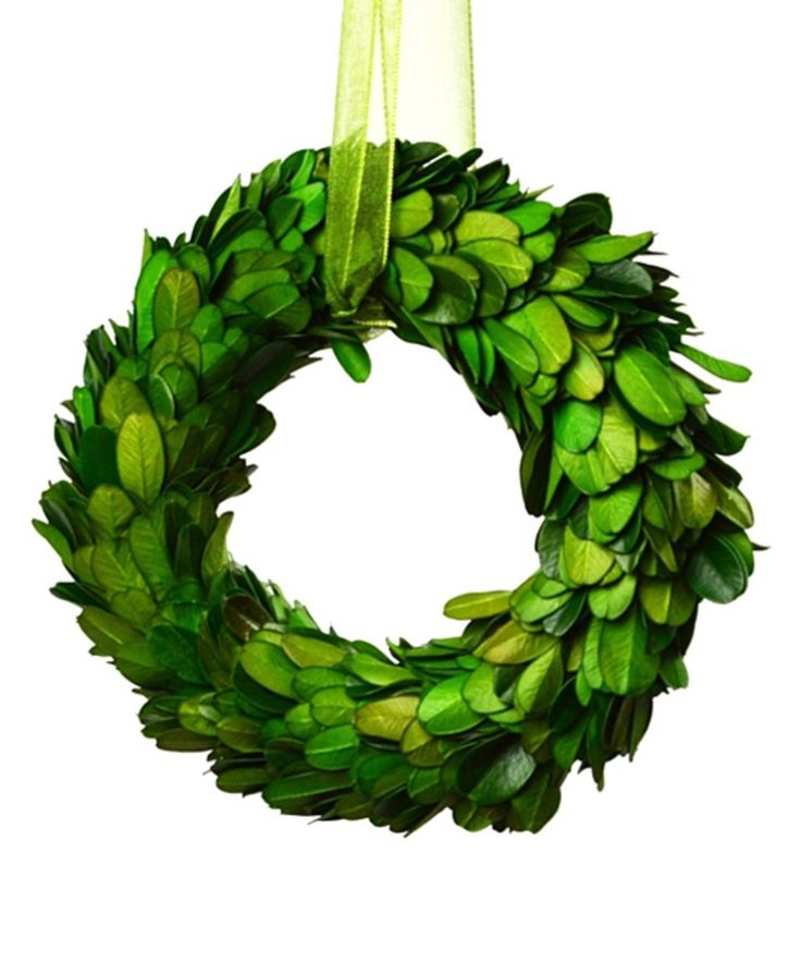 Take a look at this Small Boxwood Wreath today!