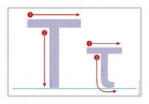 """Εκτύπωση φύλλου δραστηριότηρας με θέμα """"Πώς γράφεται το γράμμα Τ,τ""""."""