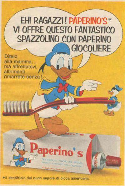 Dentifricio Paperino's