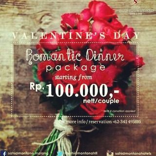 valentine day dinner promotion