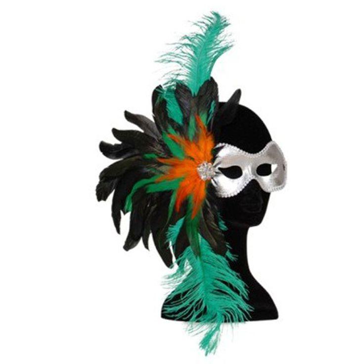 maschera di carnevale veneziana http://www.lefestediemma.com/shop/it/carnevale-e-costumi/427-1-maschera-gran-ballo-verde-8003558643707.html