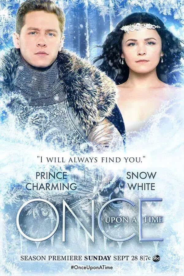 Prince Charming and Snow White On Once Upon A Time  tv series