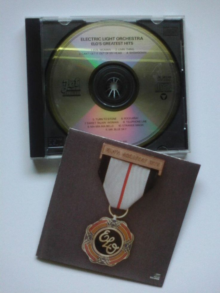 ELO's Greatest Hits by Electric Light Orchestra (CD, Jul-1986, CBS Inc.)