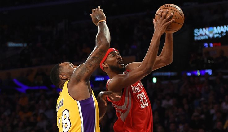 The Lakers acquired nine-year veteran Corey Brewer along with a first-round pick in a trade with Houston on Thursday.