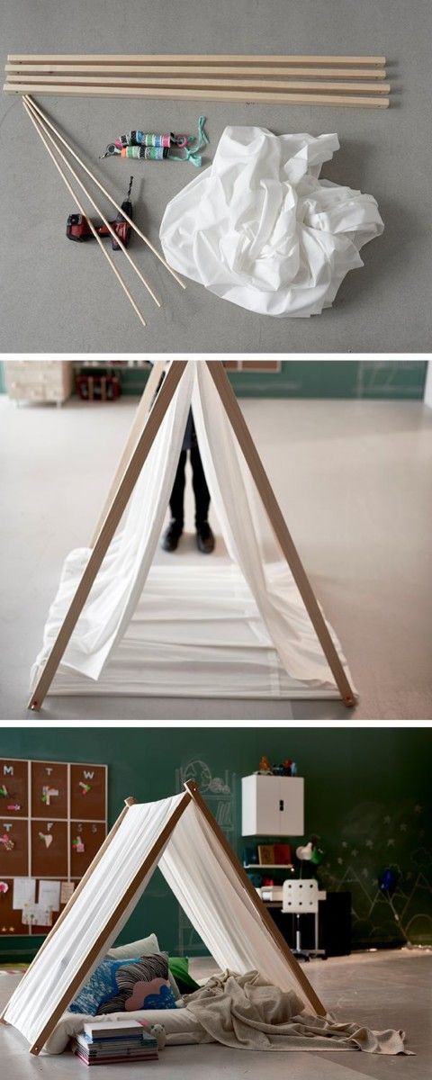 1000 Ideas About Play Tents On Pinterest Diy Teepee