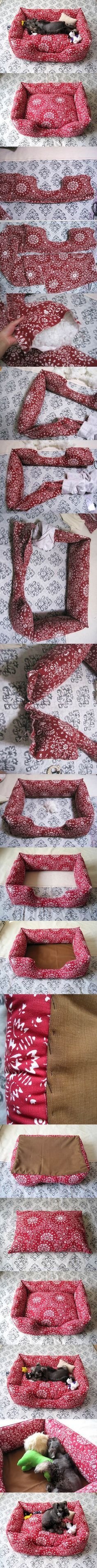 DIY Sew Couch for Pets   LovePetsDIY.com