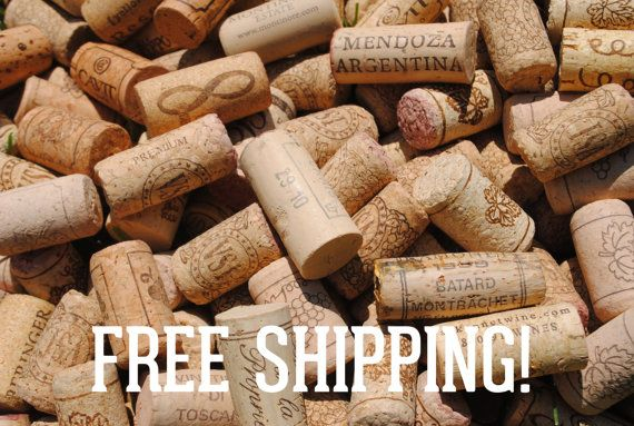 500 Used Wine Corks - All Natural Recycled Wine Corks - Bulk 100% Natural Corks on Etsy, $49.99