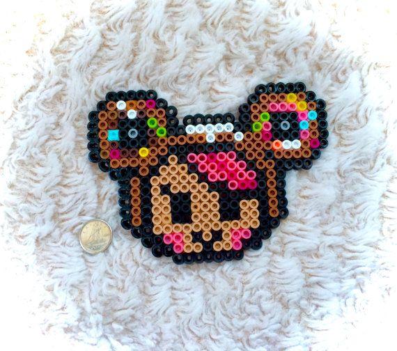 Tokidoki Donutella Toki Doki Kawaii Face 8 Bit Pixelated Cute Perler Bead Art Artwork Handmade Retro Hama Fuse Pixel Pixelart Pixelated