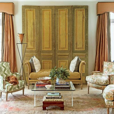 The Living Room Classically Elegant New Orleans Home Gardens Home Design And Home