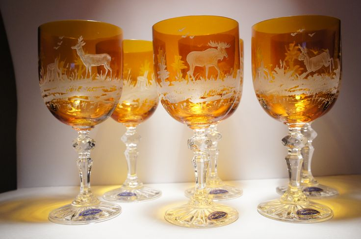Amber grawer crystal-glass.pl